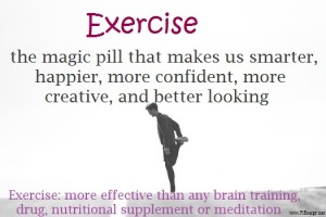 Exercise better than any pill