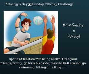 FiEnergy's Day 20 Sunday english