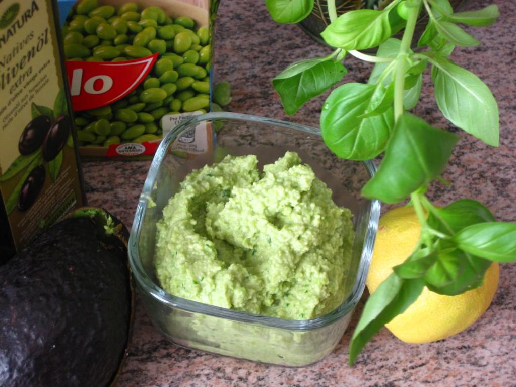 edam-cado, protein rich guacamole, recipe