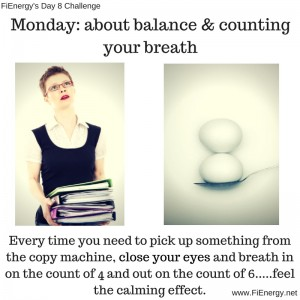 Monday_ about balance & counting your breath