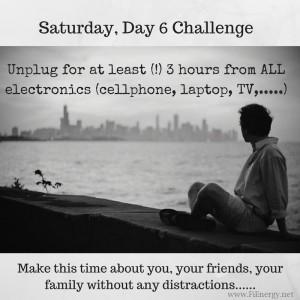 Saturday, Day 6 Challenge