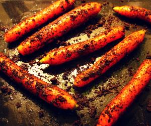 Karotten im Dreck