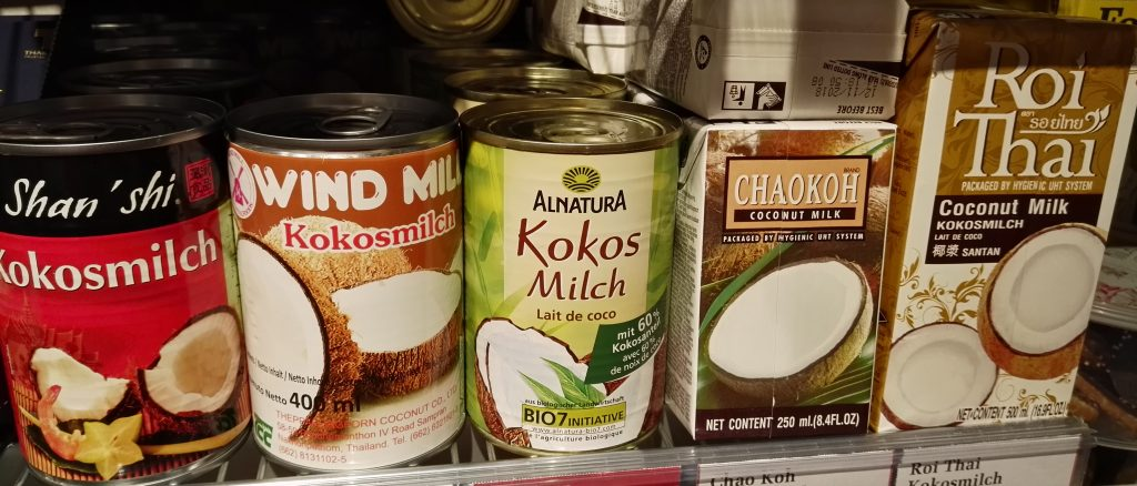 Kokosmilch, sorten, Variety