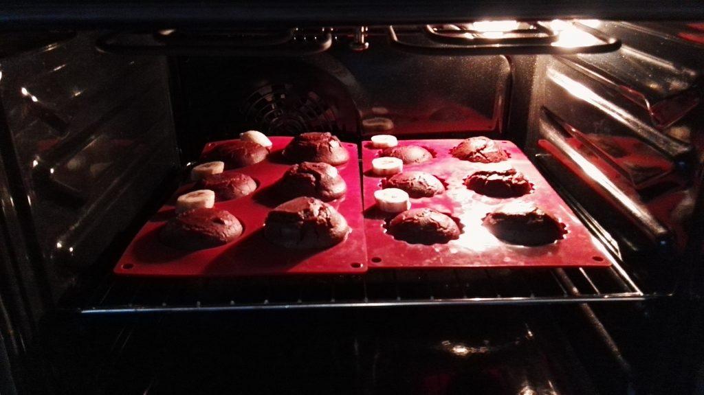 kuchen, muffins, ofen