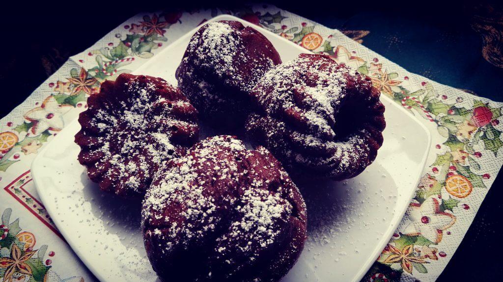 choco muffins, plate muffins