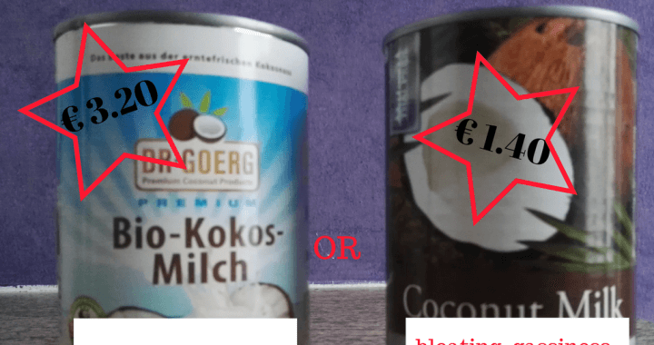 comparing coconut milk, coach yvi