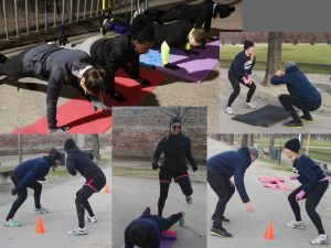 Outdoor fitness training, coach yvi, Fienergy, Vienna Austria
