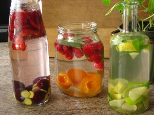 summer detox water, drink,