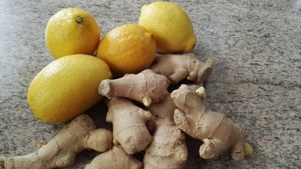 drink lemons ginger