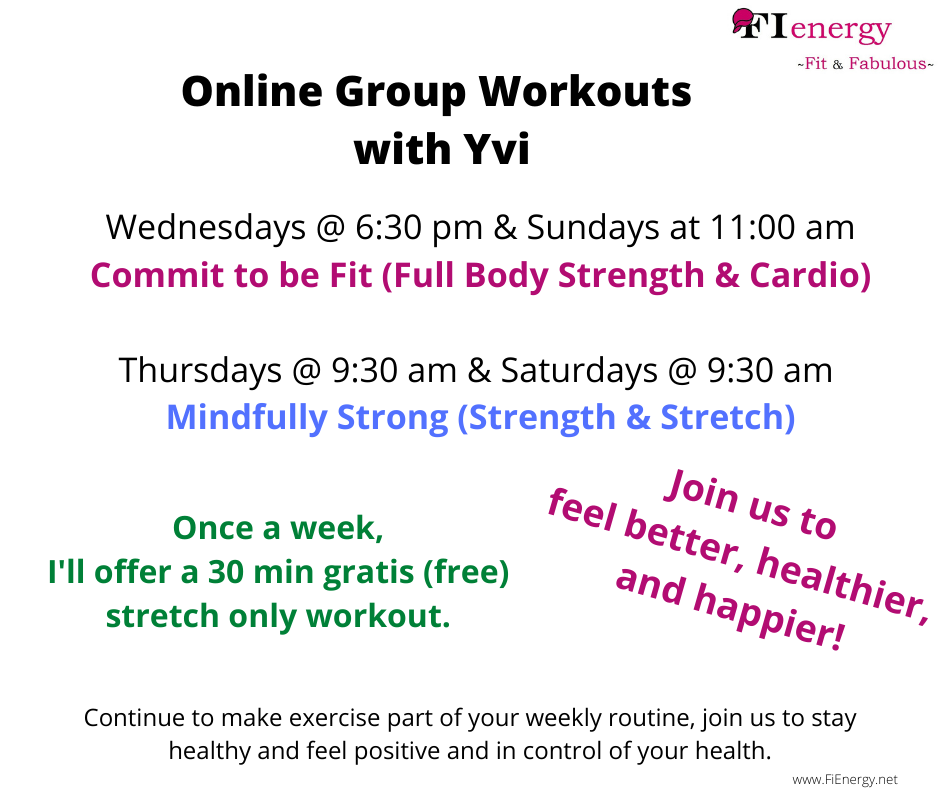 Coach Yvi, Vienna, Online Workouts, group fitness