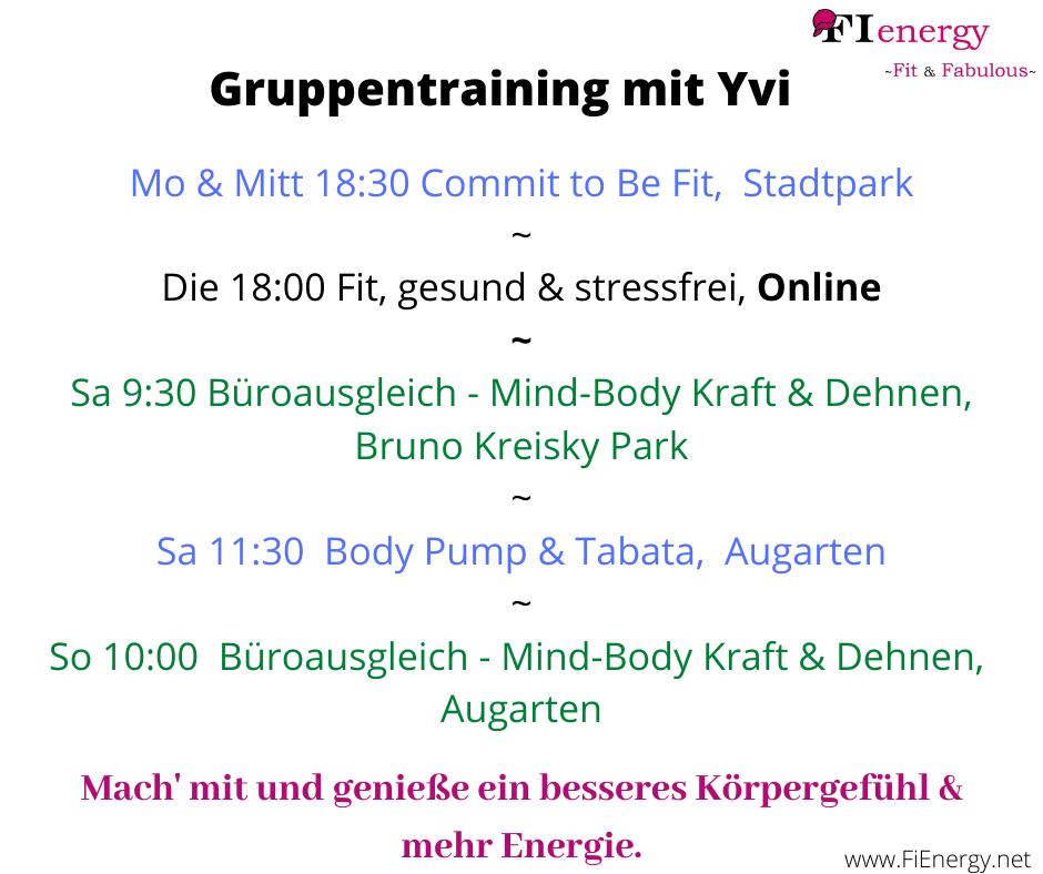 Gruppentraining, Wien,